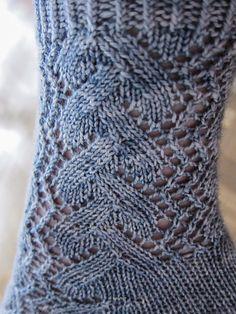 Sock recipe for lacy toe-up socks Free