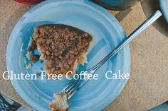 Cinnamon Streusel Gluten Fee Coffee Cake