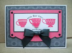 Tea for two- White House Stamping