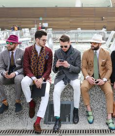 All the best Street Style from Pitti Uomo 89 by Lee Oliveira - Part 1