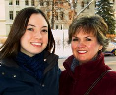 """Me and my daughter & 'Celiac Buddy,' Rebecca"" - Beth  Read more Stories of Gratitude at www.CeliacCentral.org/Gratitude"