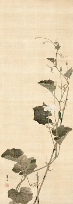 Maruyama Ōshin (円山応震; 1790–1838)  CATALOGUE INFORMATION  Edo period  Hanging scroll; ink and color on silk