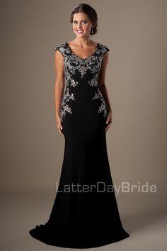 Modest Prom Dresses : Harper
