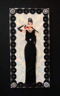 Breakfast at Tiffanys Dress Card / Audrey Hepburn / DL by BSylvar, $21.50