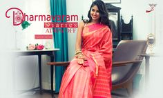 Buy one before it's too late! #Dharamavaramsilksarees at 40% discount!