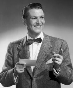 BEAT THE CLOCK (CBS-TV) - The host for this popular game show was Bud Collyer.  The former actor portrayed 'Superman' on the radio - Publicity Still.