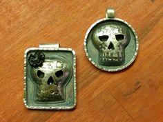 143 and 144/366 #skulljewelry