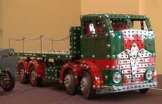 Meccano Foden flatbed lorry by Nick Rodgers