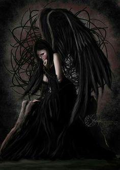 Dark Goth Angel