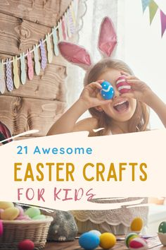 21 Awesome Easter crafts for kids. These easy crafts are perfect for kids and mess free - mostly. Easter Activities, Spring Activities, Activities For Kids, Bunny Crafts, Flower Crafts, World Book Day Costumes, Raising Godly Children, Spring Crafts For Kids, Diy Easter Decorations