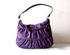 Morelle Mini Truffle in Purple   https://www.etsy.com/shop/morelle