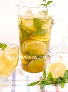 Bocados Caseros: Cómo hacer un té frío natural de rooibos