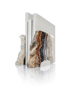 Striking variations of color differentiate the stones of these pieces. The gems are natural outgrowths from the inside of ancient lava streams, with traces of crystal, agate and amethyst. http://www.american-checkout.com/gift-birthday-surprise-gifts-ideas-from-usa/belleandjune/