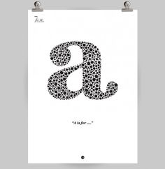 Make my own A for Archer art? :D #typography #design