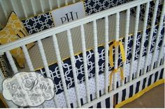 Welcome to the Good Life! - let's talk baby bedding...