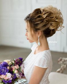 Elstie Long Wedding Hairstyles and Wedding Updos 26 | Deer Pearl Flowers