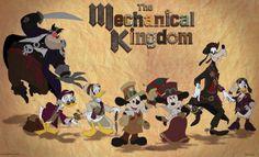The Adventures of Steampunk Addie: Steampunk Mickey
