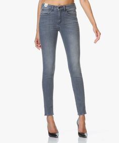Drykorn Soon High Rise Skinny Jeans - Grijs