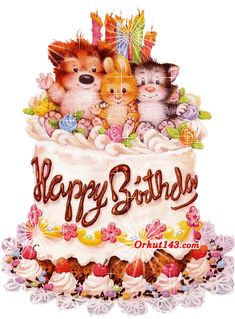 Beautiful Birthday Cards for Facebook | ... Birthday graphics, happy Birthday scraps, Birthday cake, Birthday