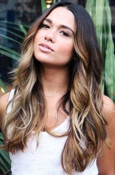 curly balayage - Google Search