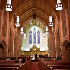 the absolutely amazing, gothic-style chapel that I had the privilege of getting married in at College of the Ozarks