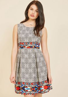 <p>Your style has been described in many fabulous ways - classic, timeless, oh-so-elegant - and this black dress offers posh proof! A watercolor floral print festoons this pleated frock with white and earthy orange hues - providing a stunning testament to your awe-inspiring sophistication.</p>