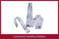 Have a pattern or logo printed on your acrylic jewellery displays for unique retail display! Jewellery Displays, Ring Displays, Bracelet Display, Shop Fittings, Watch Display, Acrylic Display, Body Jewellery, Custom Jewelry, Retail