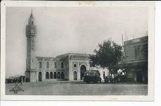 CPA BIZERTE - TUNISIE - LA GARE