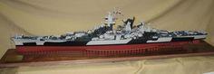 1/192 USS Alaska CB-1 (Scratchbuilt)