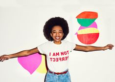 I Am Not Perfect Tee