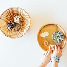 Malena jewelry + trays: malena.com