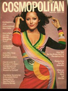 September 1970 cover with Barbara Carrera