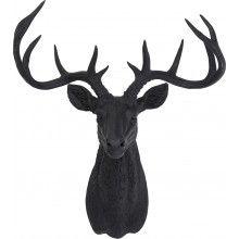 cadre t te de cerf d co scandinave 13cmx18cm deco decoration and html. Black Bedroom Furniture Sets. Home Design Ideas