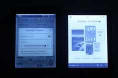 Nighttime Reading Tests with the Kobo Glo and Nook Simple Touch with Glowlight