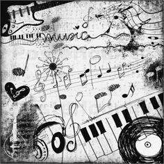 """Bild von M. Tenbergen - """"Musik"""""""
