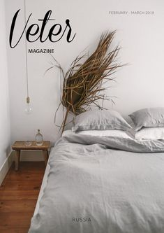 Simple bedroom decor with stunning fern from Veter Minimalist Bedroom, Minimalist Decor, Simple Bedroom Decor, Interiors Magazine, Bedclothes, Bedroom Furniture Sets, Cozy House, Interior Styling, Interior Inspiration