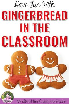 Are you teaching with gingerbread stories this season? Grab some fun ideas and activities for bringing gingerbread into your classroom this year! From books to gingerbread baking and recipes, to writing and art ideas, this post has all you need for a fun gingerbread unit. #gingerbread #classroom #christmas #teaching #gingerbreadman