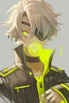Dark Anime Guys, Cool Anime Guys, Hot Anime Boy, Fantasy Character Design, Character Art, Anime Boy Zeichnung, Cyberpunk Anime, Anime Devil, Handsome Anime