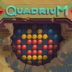 Quadrium is a new marble matching game. New Puzzle Games, Puzzles For Kids, Matching Games, Videogames, Marble, Casual, Brain Teasers For Kids, Kids Puzzles, Granite