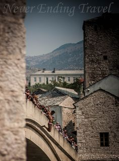 Old Bridge in Mostar, Bosnia and Herzegovina, Balkans  Photo made Jan Romer