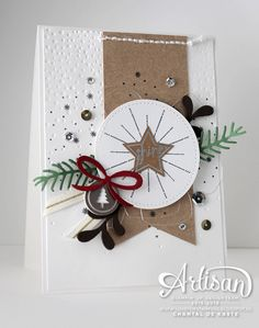 Frosted Medallions, It's a Celebration with the Hello December PL for making Christmas projects. ~ Chantal de Kaste