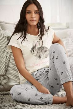 Buy Bunny Cuffed Pyjamas online today at Next: Argentina
