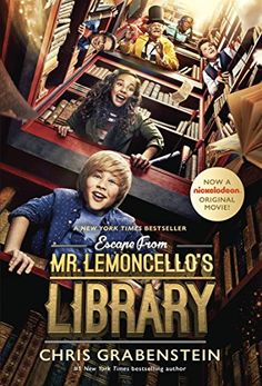 Escape from Mr. Lemoncello's Library by Chris Grabenstein https://www.amazon.com/dp/B00AUSCOQK/ref=cm_sw_r_pi_dp_U_x_vaTvAb1X6F8S1