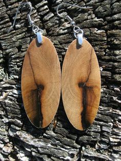 $29.95 Myrtle Wood Earrings on my etsy! Myrtle Wood Earrings by forestlifecreations on Etsy