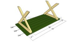 about Picnic Table Plans on Pinterest | Picnic table plans, Picnic ...