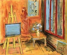 The Studio in Perpignan - Raoul Dufy - The Athenaeum