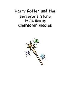 Harry Potter Character Riddles