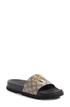 453a97cfcaa Gucci  Pursuit Treck  Slide Sandal (Men) Mens Luggage