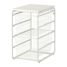 ALGOT Stel/2 trådkurve/tophylde - IKEA