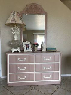 Lovely Shabby Chic Dresser/Buffet/Sideboard (Furniture) in Victorville, CA - OfferUp